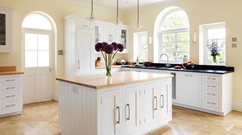 40 Pristine And White Home Kitchens-27