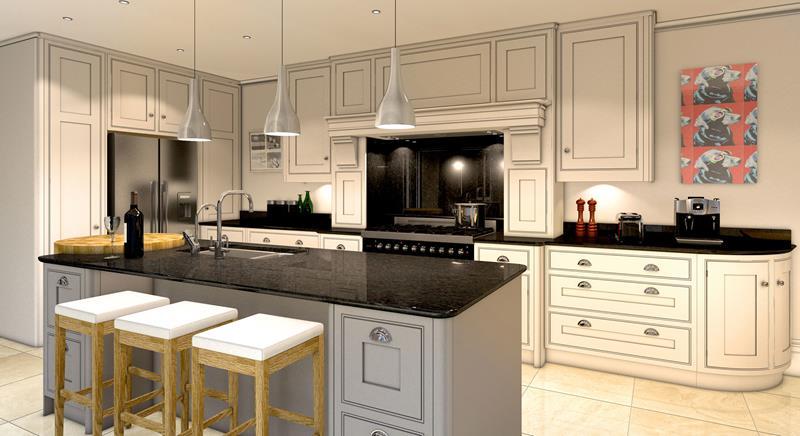 40 Pristine And White Home Kitchens-30