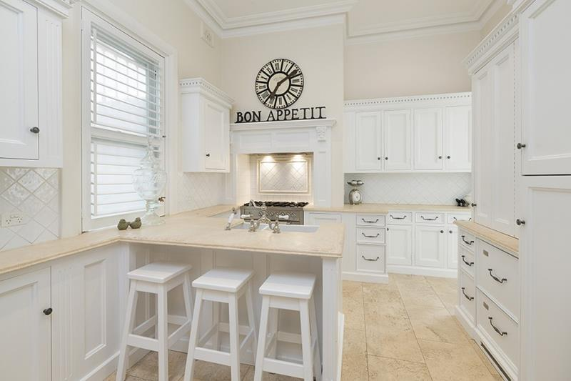 40 Pristine And White Home Kitchens-33