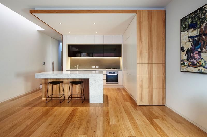 40 Pristine And White Home Kitchens-39