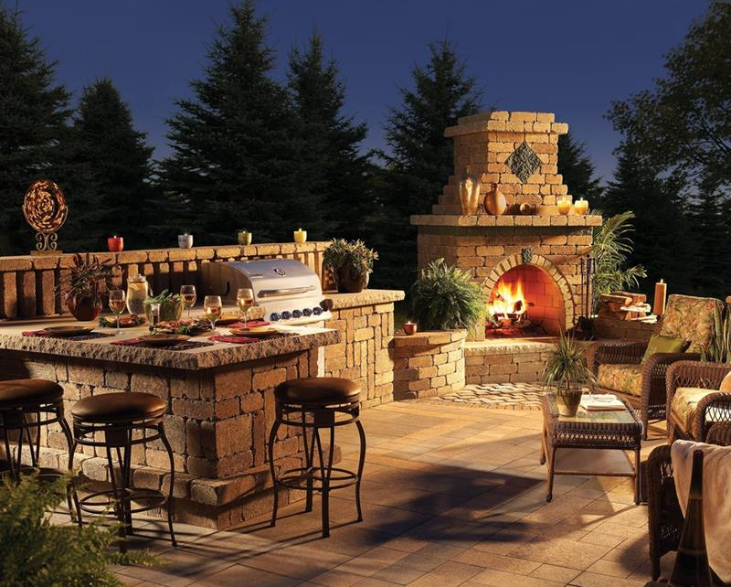 47 Outdoor Kitchen Designs and Ideas-22