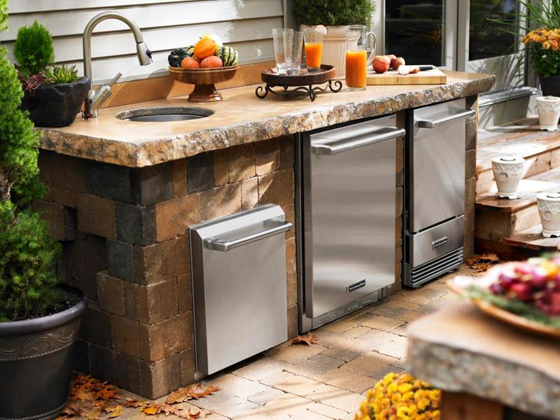 47 Outdoor Kitchen Designs and Ideas-23