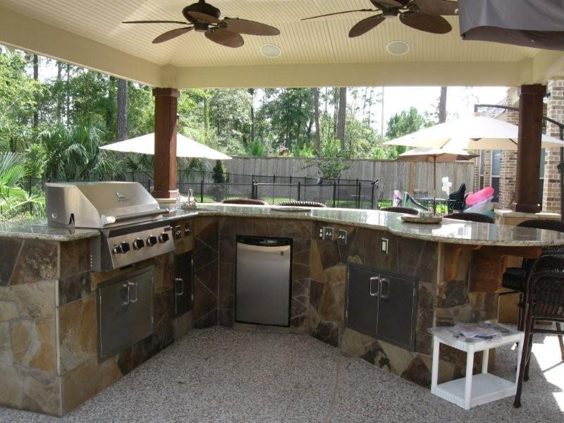 47 Outdoor Kitchen Designs and Ideas-3