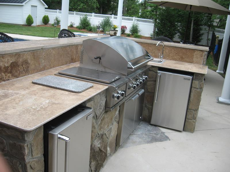 47 Outdoor Kitchen Designs and Ideas-30