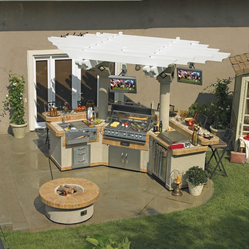 47 Outdoor Kitchen Designs and Ideas-36