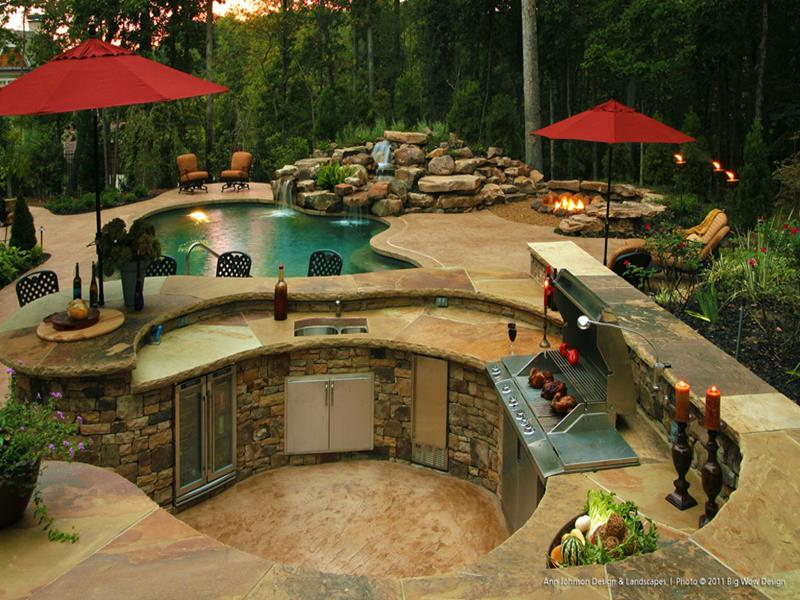 47 Outdoor Kitchen Designs and Ideas-4