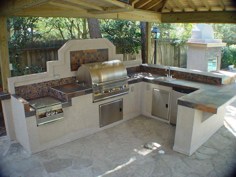 47 Outdoor Kitchen Designs and Ideas-7