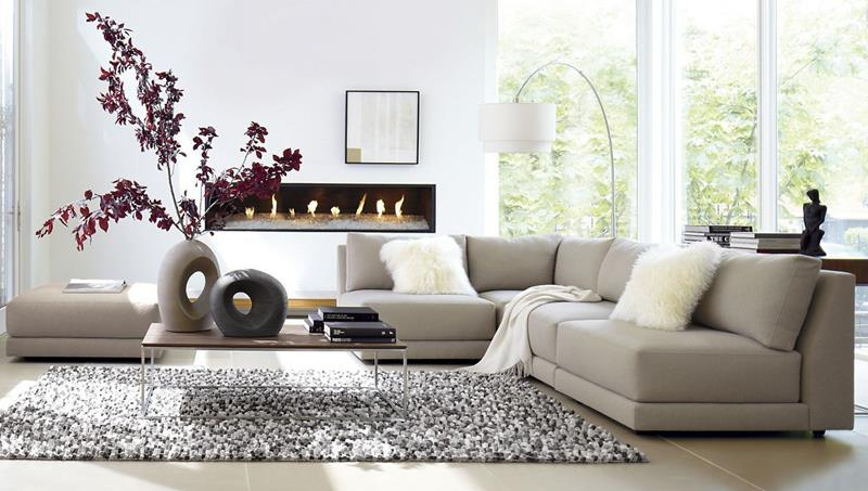 50 Ideas For Modern Living Room Design-16