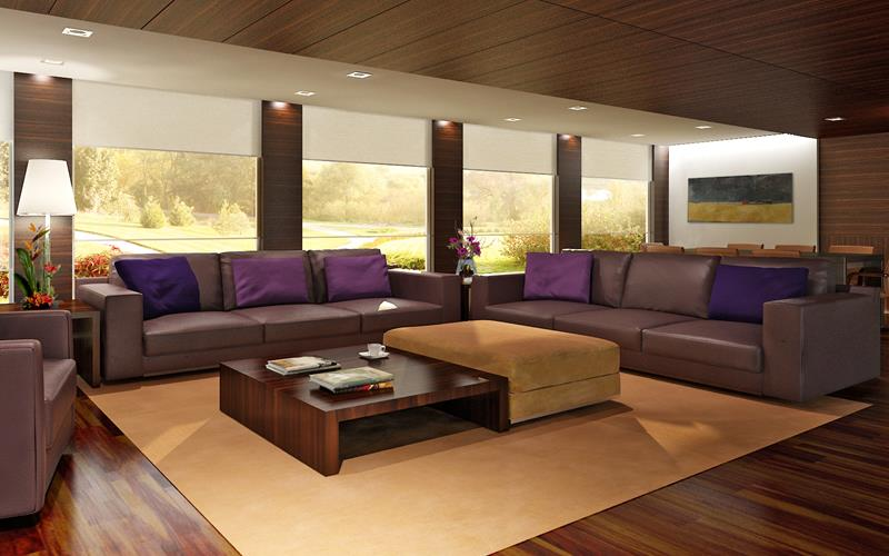 50 Ideas For Modern Living Room Design-20