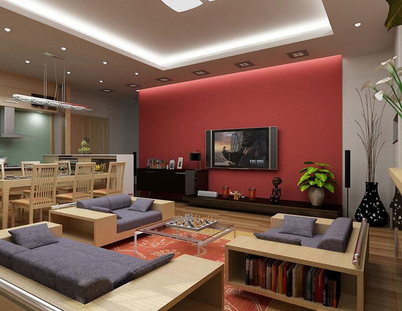 50 Ideas For Modern Living Room Design-22