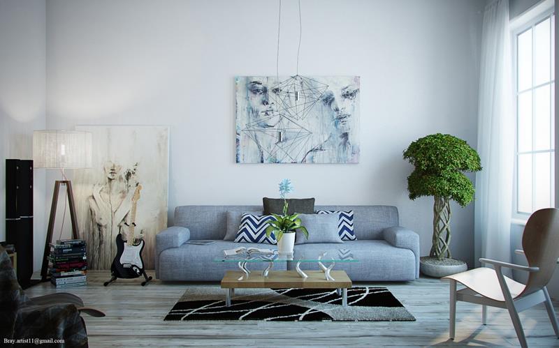 50 Ideas For Modern Living Room Design-29