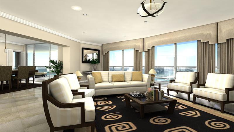 50 Ideas For Modern Living Room Design-33