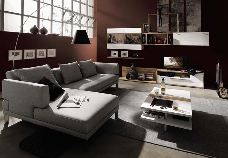 50 Ideas For Modern Living Room Design-37