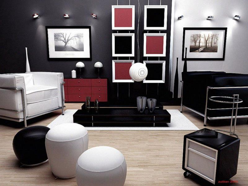 50 Ideas For Modern Living Room Design-45