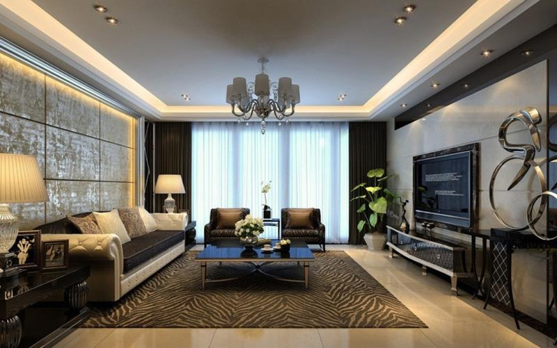 50 Ideas For Modern Living Room Design-5