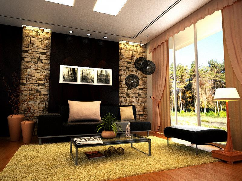50 Ideas For Modern Living Room Design-50