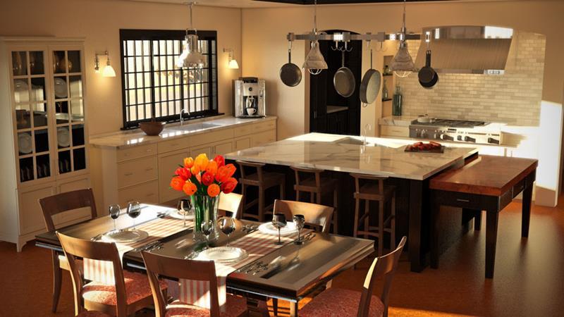 52 Absolutely Stunning Dream Kitchen Designs-31