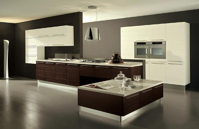 55 Luxury Contemporary Kitchen Designs-14