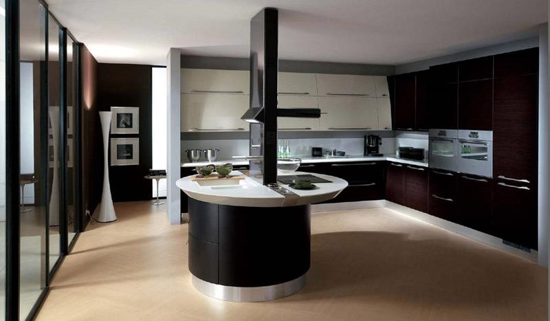 55 Luxury Contemporary Kitchen Designs-16