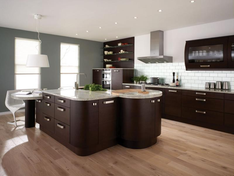 55 Luxury Contemporary Kitchen Designs-19
