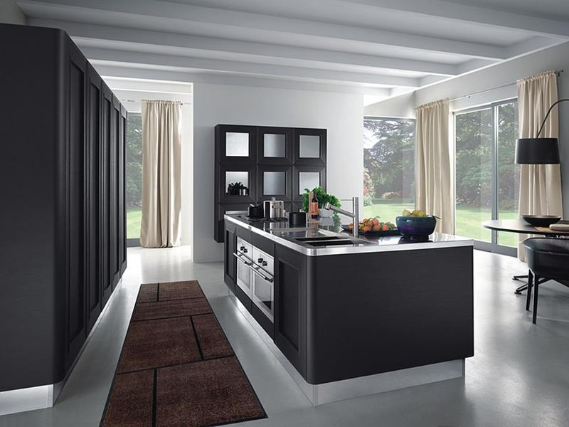 55 Luxury Contemporary Kitchen Designs-25