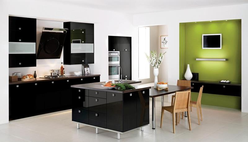 55 Luxury Contemporary Kitchen Designs-28