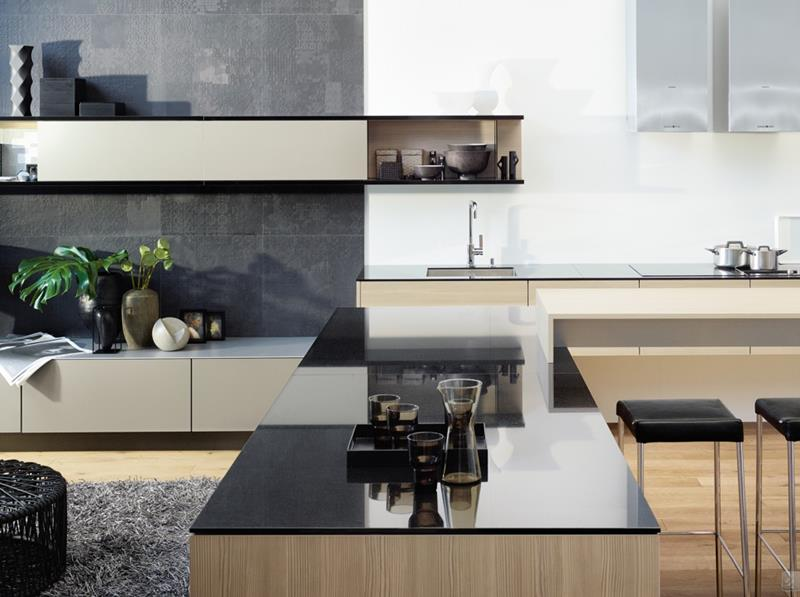 55 Luxury Contemporary Kitchen Designs-30