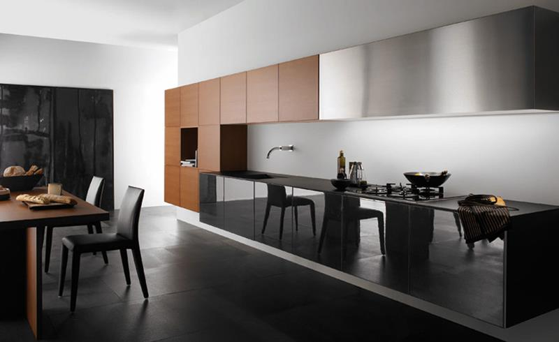 55 Luxury Contemporary Kitchen Designs-31
