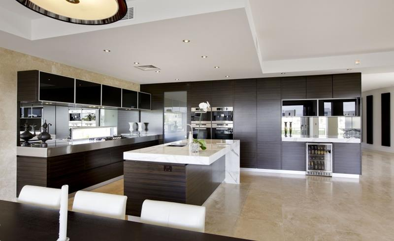 55 Luxury Contemporary Kitchen Designs-46