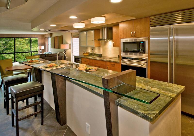 55 Luxury Contemporary Kitchen Designs-5