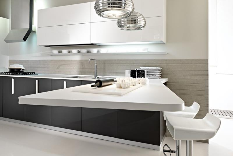 55 Luxury Contemporary Kitchen Designs-50