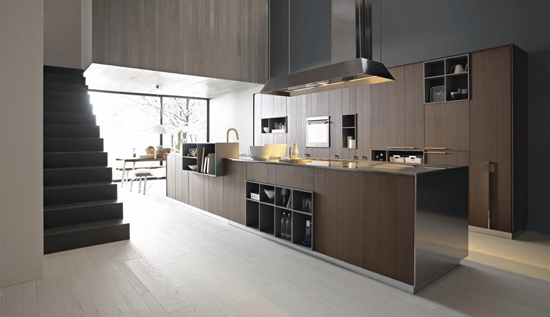 55 Luxury Contemporary Kitchen Designs-51