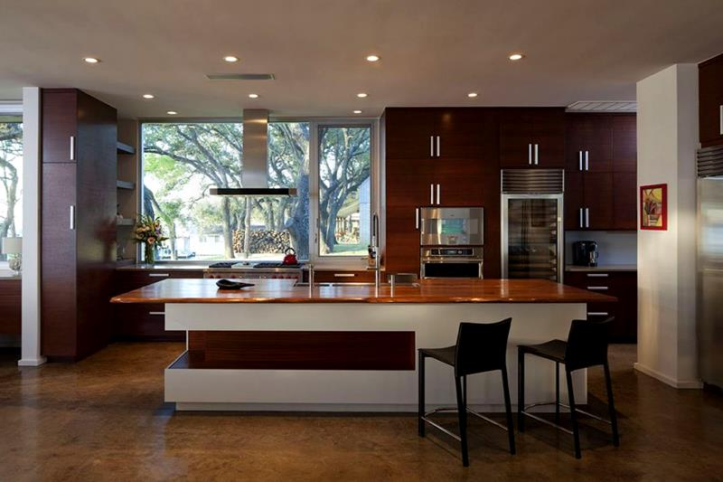 55 Luxury Contemporary Kitchen Designs-7