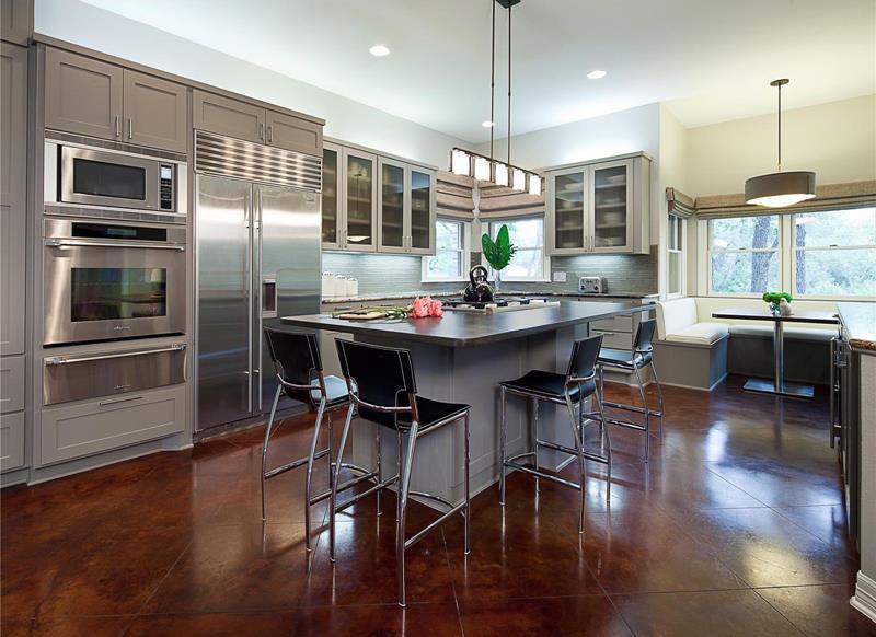 55 Luxury Contemporary Kitchen Designs-title
