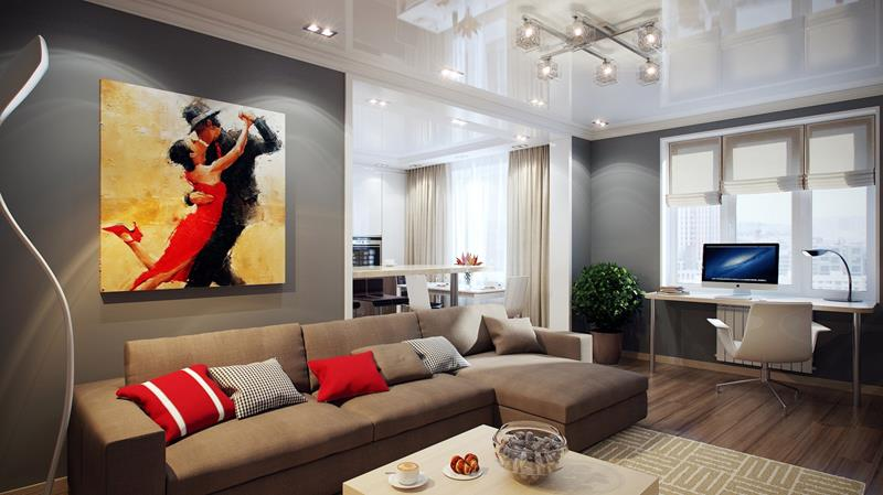62 Gorgeous Small Living Room Designs-42