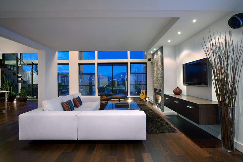 67 Gorgeous Family Room Interior Designs-10