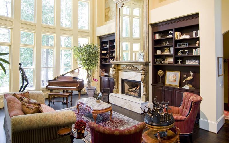 67 Gorgeous Family Room Interior Designs-17