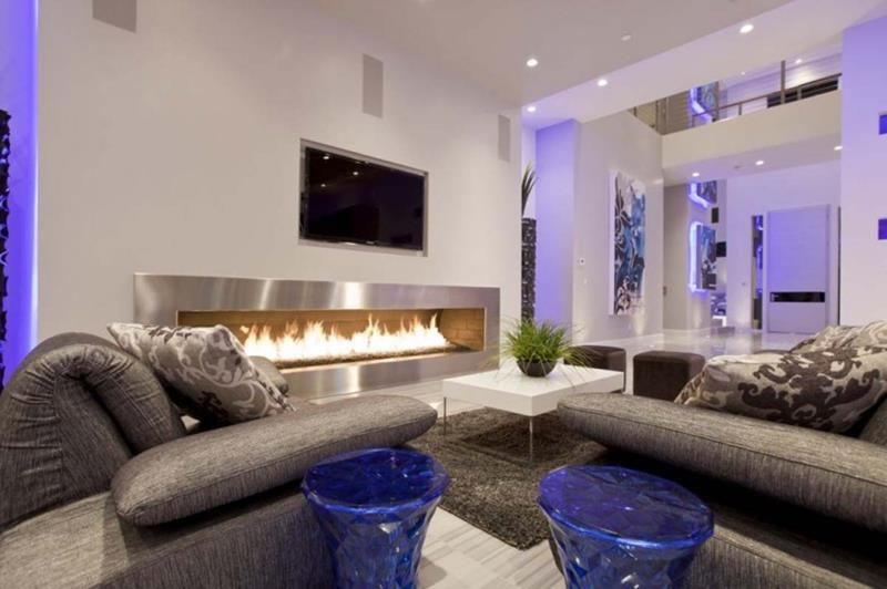 67 Gorgeous Family Room Interior Designs-19