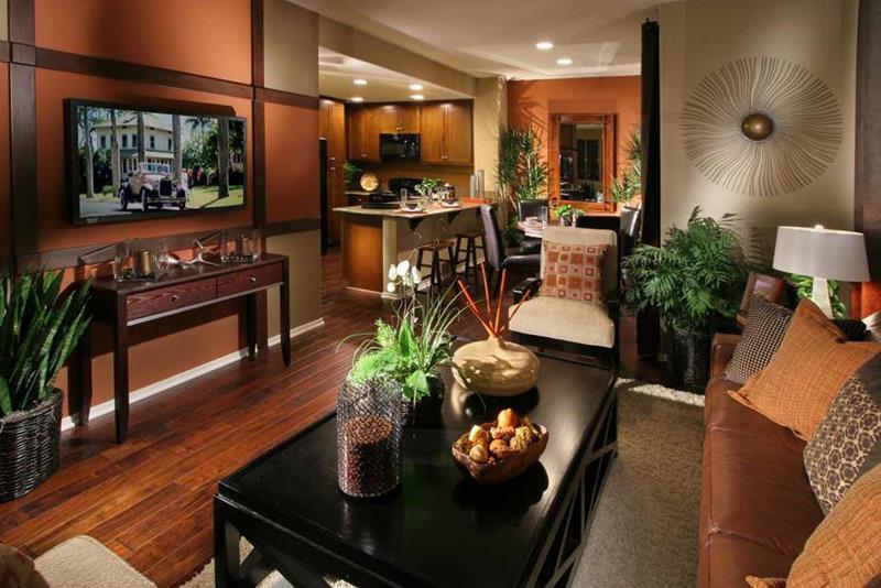 67 Gorgeous Family Room Interior Designs-2