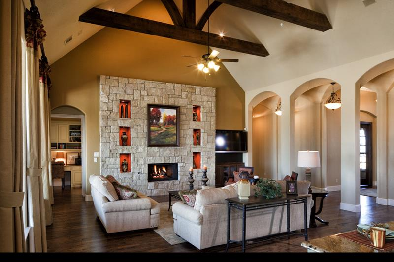 67 Gorgeous Family Room Interior Designs-22