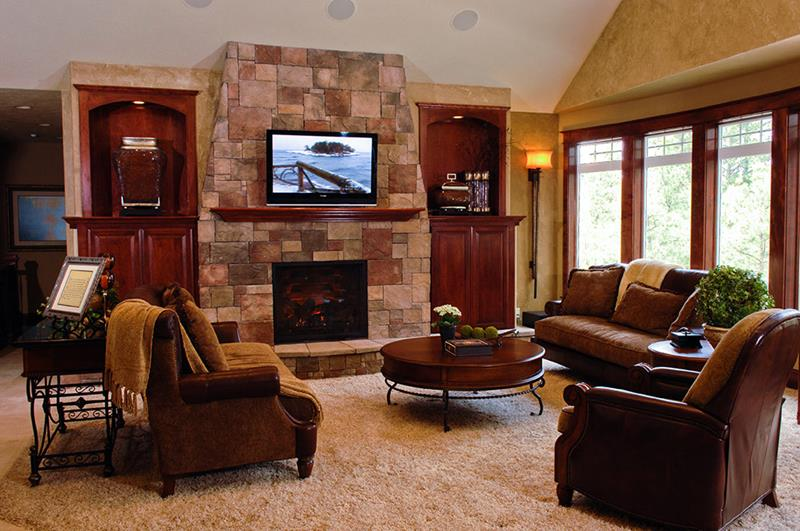 67 Gorgeous Family Room Interior Designs-3