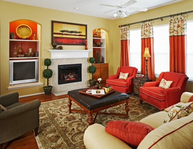 67 Gorgeous Family Room Interior Designs-33