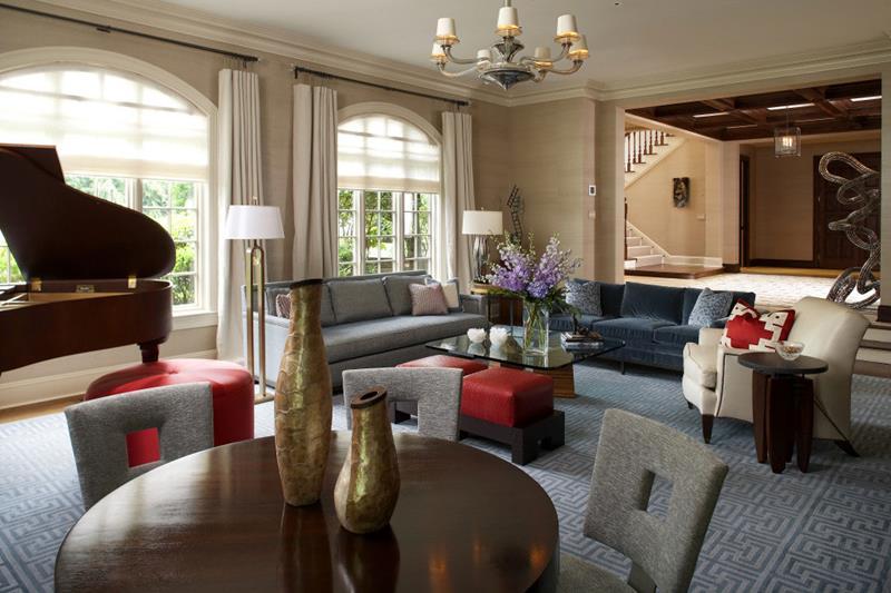 67 Gorgeous Family Room Interior Designs-35