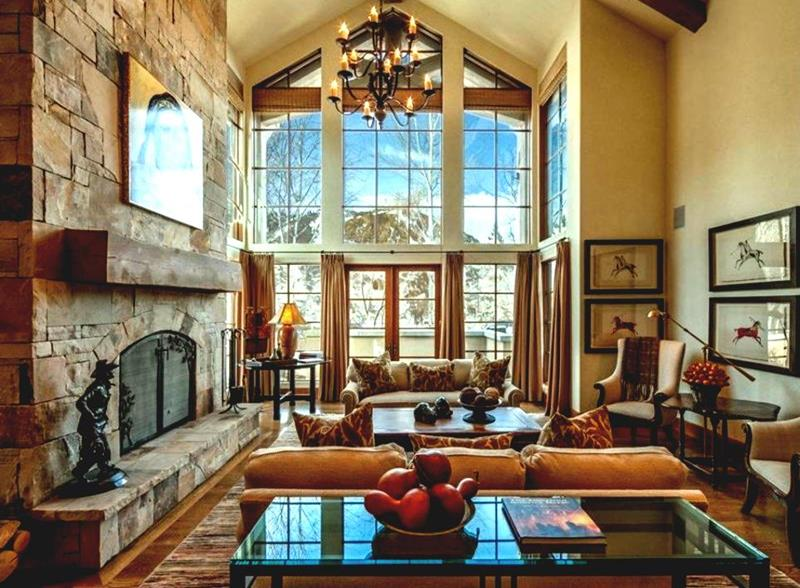 67 Gorgeous Family Room Interior Designs-38