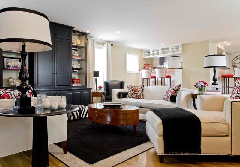 67 Gorgeous Family Room Interior Designs-4