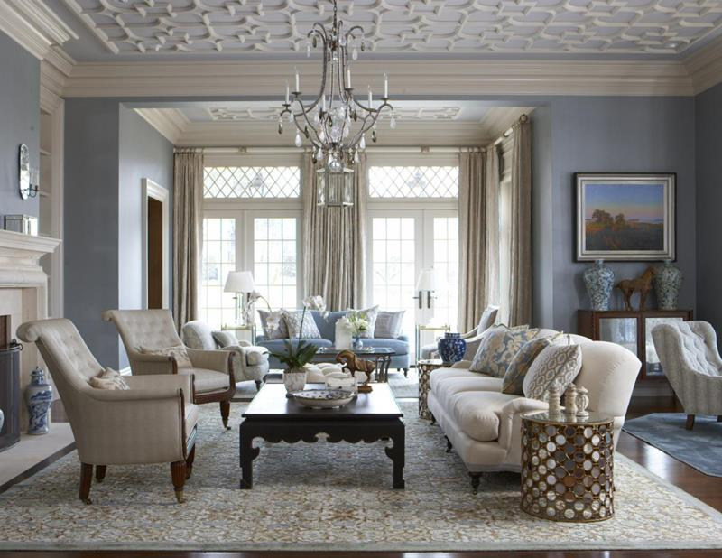 67 Gorgeous Family Room Interior Designs-42