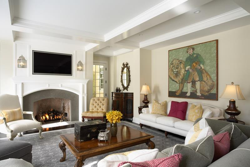 67 Gorgeous Family Room Interior Designs-48