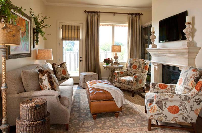 67 Gorgeous Family Room Interior Designs-50