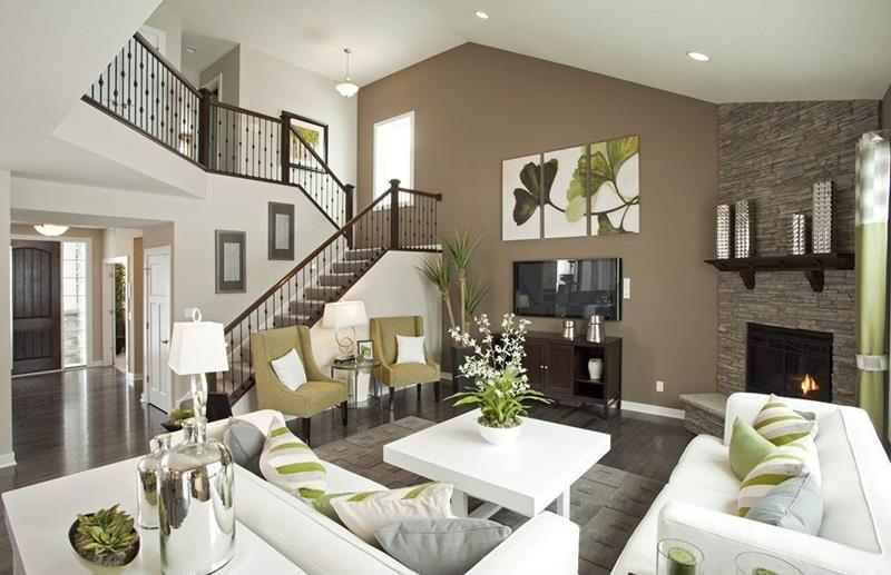 67 Gorgeous Family Room Interior Designs-64