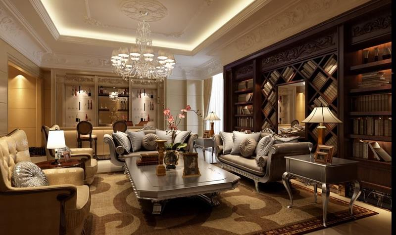 67 Gorgeous Family Room Interior Designs-66